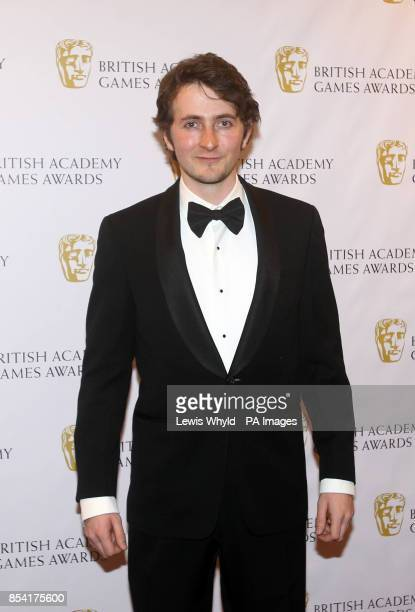Tom Scurr attending the British Academy Video Games Awards at the London Hilton Park Lane London PRESS ASSOCIATION Photo Picture date Tuesday March 5...