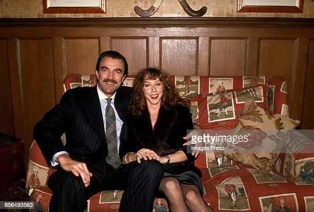 Tom Selleck and wife Jillie Mack circa 1989 in New York City