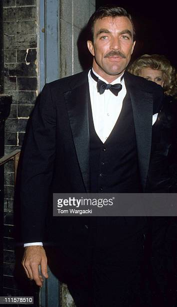 Tom Selleck at party for James Bond film 'Octopussy'