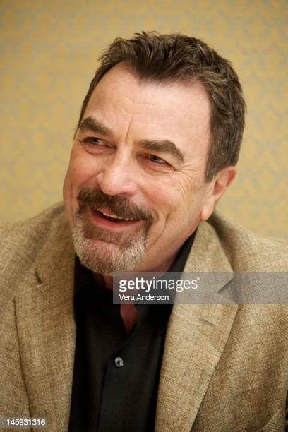 Tom Selleck at the 'Blue Bloods' Press Conference at the Four Seasons Hotel on June 6 2012 in Beverly Hills California