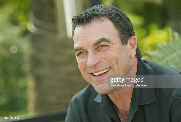 Tom Selleck during 2004 MonteCarlo TV Festival 'Ike' Photocall at Japanese Gardens in Monte Carlo Monaco Monaco