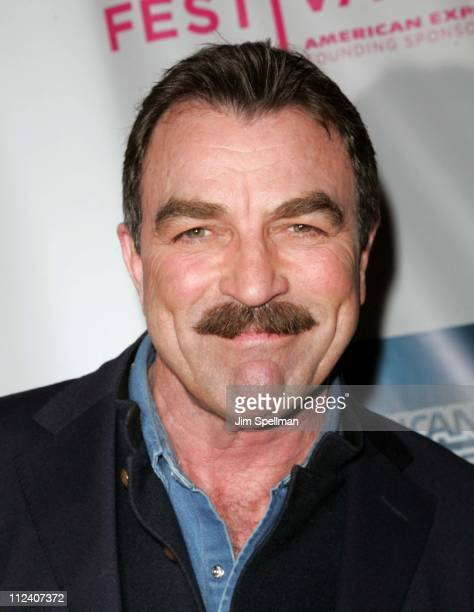 Tom Selleck during 5th Annual Tribeca Film Festival 'United 93' Premiere Arrivals at Ziegfeld Theater in New York City New York United States