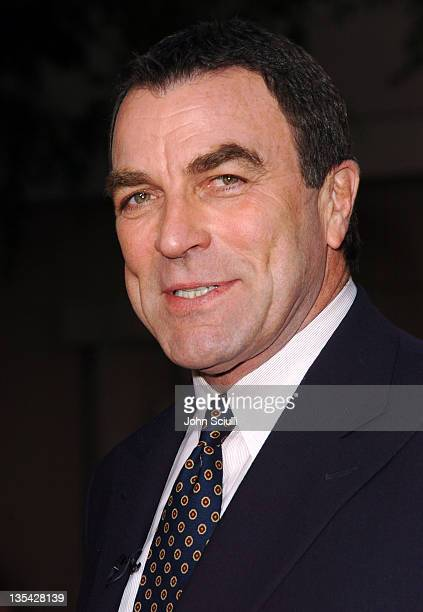 Tom Selleck during 'Ike Countdown to DDay' Premiere at Leonard H Goldenson Theatre in North Hollywood California United States