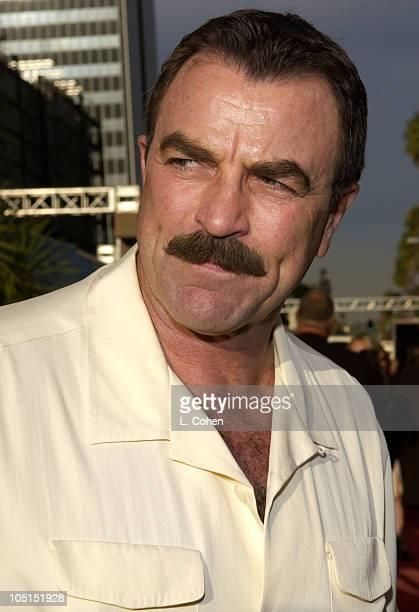 Tom Selleck during 'Open Range' Premiere Red Carpet at Arclight Cinerama Dome in Los Angeles California United States
