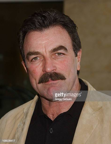 Tom Selleck during The 2003 National Cable Telecommunications Assn Press Tour Day One at Renaissance Hotel in Hollywood California United States