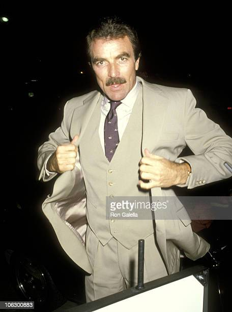 Tom Selleck during Tom Selleck at Nicky Blair's at Nicky Blair's in Hollywood California United States