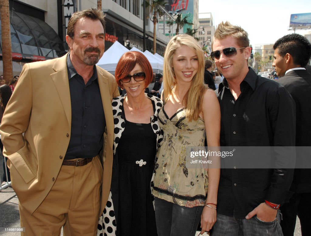 Tom selleck jillie mack hannah selleck and guest show more