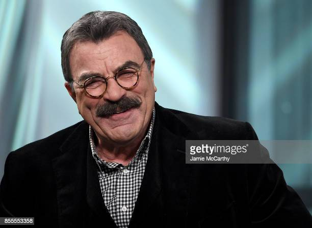 Tom Selleck visits the Build Series to discuss his show 'Blue Bloods at Build Studio on September 29 2017 in New York City