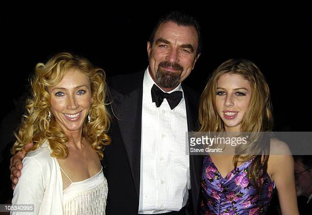 Tom Selleck with Jillie Mack and daugher Hannah
