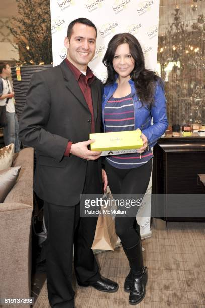 Tom Sesti and Kristen Campbell attend Silver Spoon Presents Oscar Weekend Red Cross Event For Haiti Relief at Interior Illusions on March 3 2010 in...