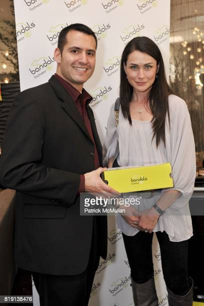 Tom Sesti and Rena Sofer attend Silver Spoon Presents Oscar Weekend Red Cross Event For Haiti Relief at Interior Illusions on March 3 2010 in West...