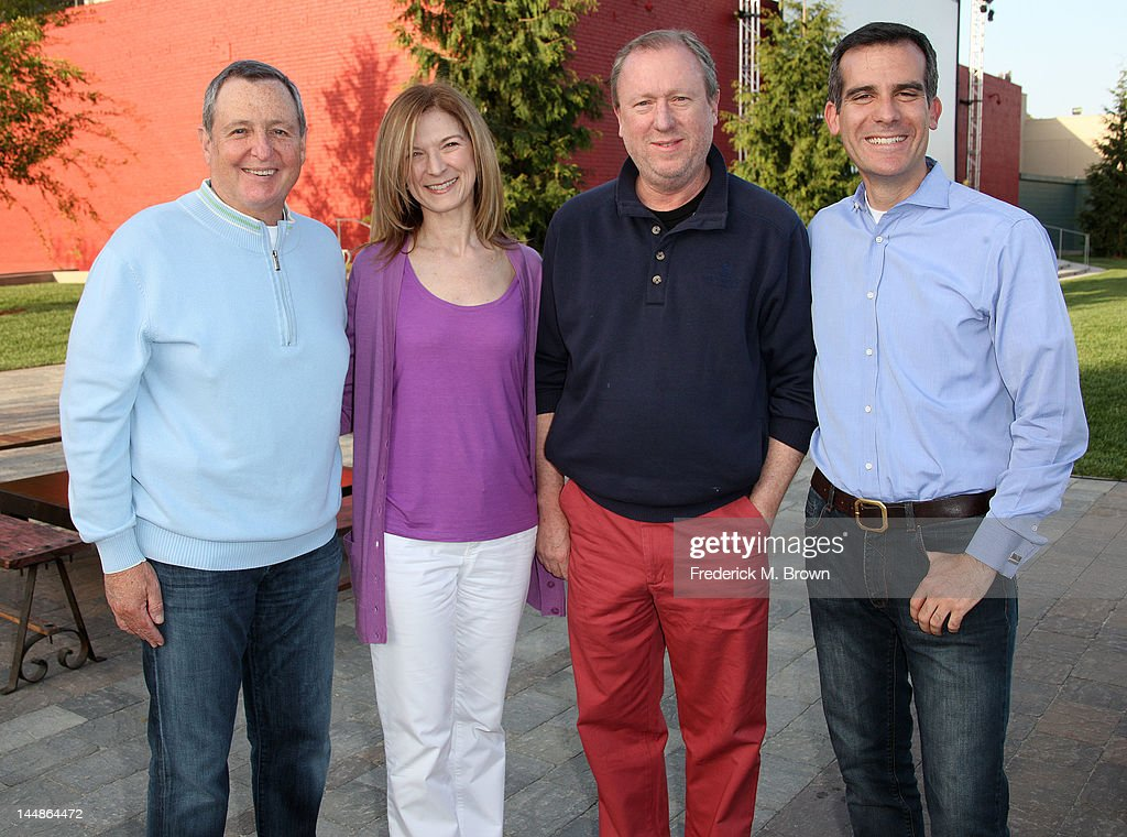 Tom Sherak president of the Academy of Motion Picture Arts and Sciences Dawn Hudson CEO of the Academy of Motion Picture Arts and Sciences Ric...