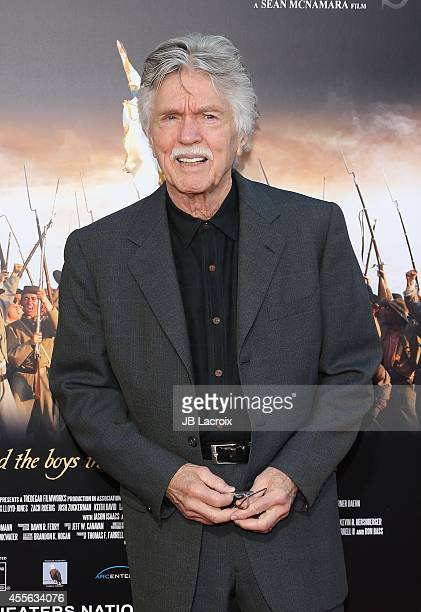 Tom Skerritt attends the 'Field Of Lost Shoes' Los Angeles premiere at the Regency Village Theatre on September 17 in Westwood California