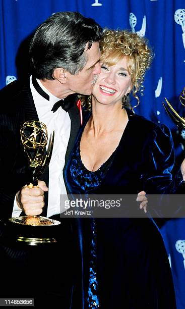 Tom Skerritt during 1993 Emmy Awards Press Room in Los Angeles CA United States