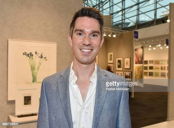 Tom Smith attends the IFPDA Fine Art Print Fair Opening Preview at The Jacob K Javits Convention Center on October 25 2017 in New York City