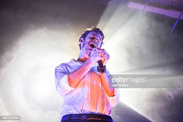 Tom Smith of Editors performs in concert at Razzmatazz on November 16 2015 in Barcelona Spain