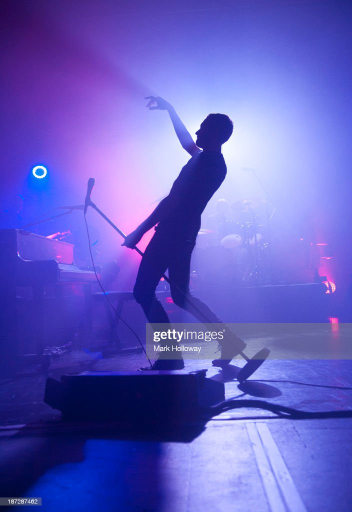 Tom Smith of the Editors performs on stage at Southampton Guildhall on November 7, 2013 in Southampton, United Kingdom.