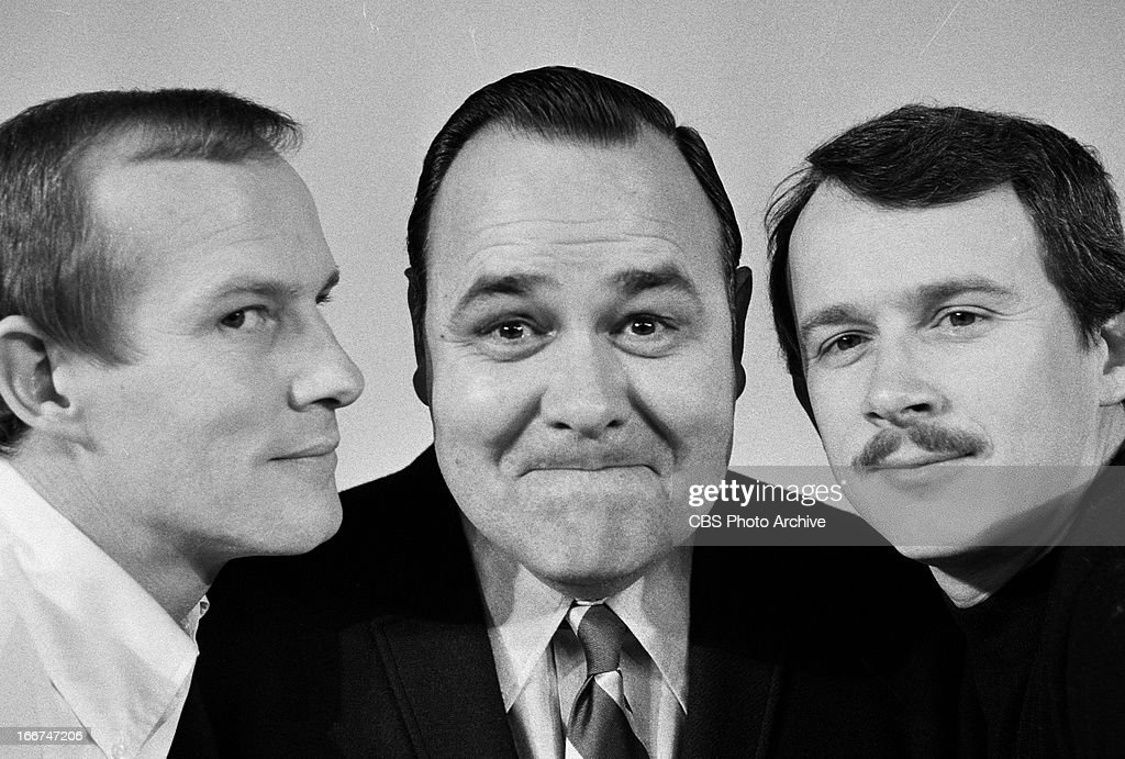 Tom Smothers, Jonathan Winters and Dick Smothers for THE SMOTHERS BROTHERS COMEDY HOUR. Image dated February 3, 1969.