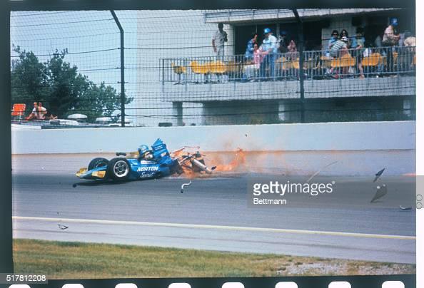 Guthrie Indy Car Crash