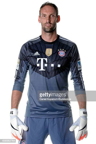 Tom Starke poses during the FC Bayern Muenchen Team Presentation for DFL on August 9 2014 in Munich Germany