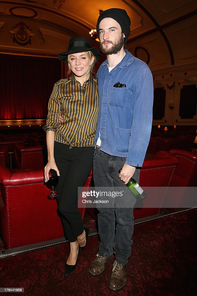 <a gi-track='captionPersonalityLinkClicked' href=/galleries/search?phrase=Tom+Sturridge&family=editorial&specificpeople=2666406 ng-click='$event.stopPropagation()'>Tom Sturridge</a> and <a gi-track='captionPersonalityLinkClicked' href=/galleries/search?phrase=Sienna+Miller&family=editorial&specificpeople=171883 ng-click='$event.stopPropagation()'>Sienna Miller</a> attend the 'About Time' special screening at The Electric Cinema on September 3, 2013 in London, England.