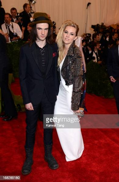 Tom Sturridge and Sienna Miller attends the Costume Institute Gala for the 'PUNK Chaos to Couture' exhibition at the Metropolitan Museum of Art on...