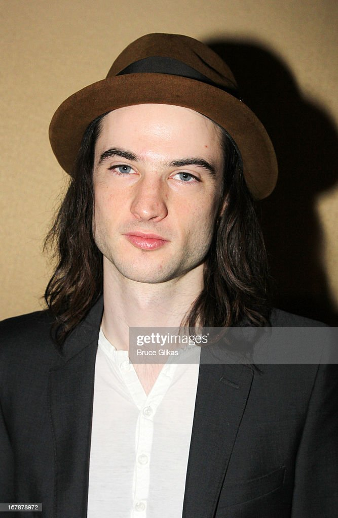 Tom Sturridge attends the 2013 Tony Awards: The Meet The Nominees Press Junket at the Millenium Hilton on May 1, 2013 in New York City.