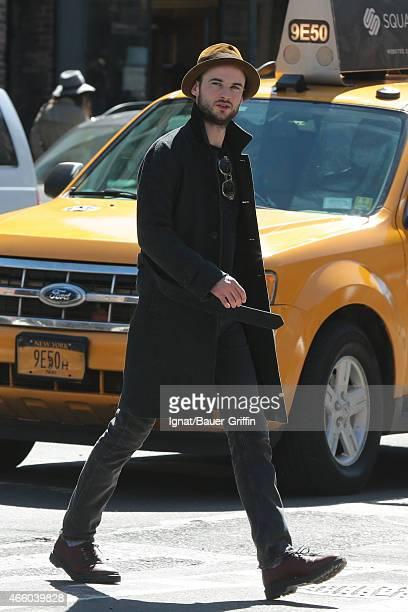 Tom Sturridge is seen on March 12 2015 in New York City