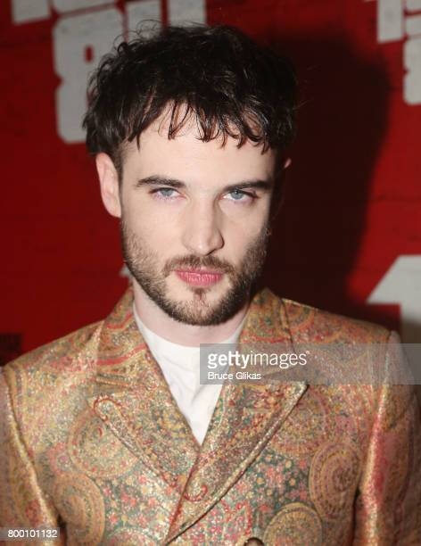 Tom Sturridge poses at the opening night party for '1984' on Broadway at The Lighthouse at Chelsea Piers on June 22 2017 in New York City