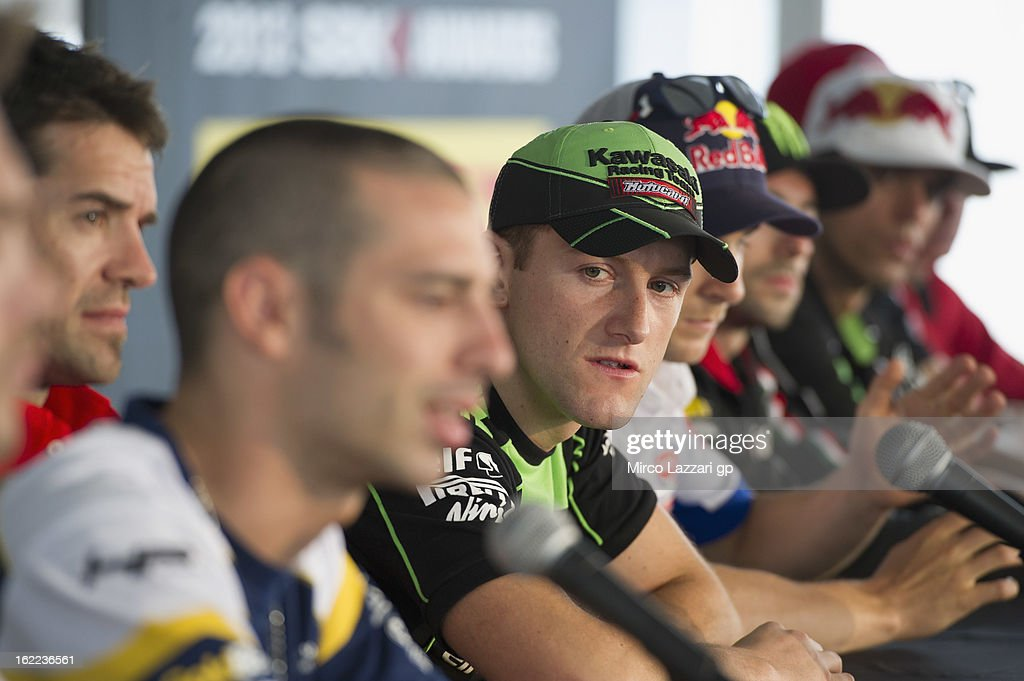 Tom Sykes of Great Britain and Kawasaki Racing Team looks on during the press conference for the launch of the 2013 World SBK and World Supersport season at Phillip Island Grand Prix Circuit on February 21, 2013 in Phillip Island, Australia.
