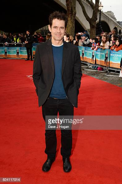 Tom Tykwer arrives for the UK premiere of 'A Hologram For The King' at BFI Southbank on April 25 2016 in London England