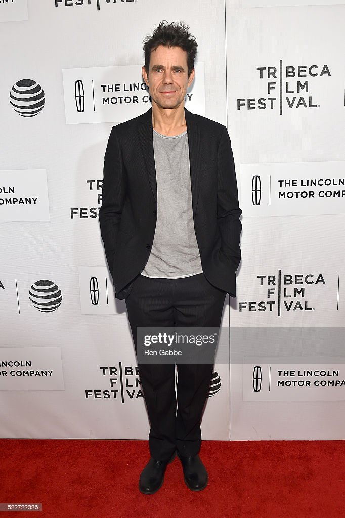 Tom Tykwer attends the 'A Hologram for the King' Premiere 2016 Tribeca Film Festival at BMCC John Zuccotti Theater on April 20 2016 in New York City