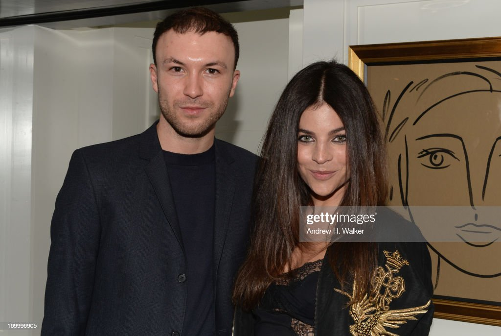 Tom Van Dorpe and Julia Restoin Roitfield attend the Casadei dinner at Omar's, hosted by Julia Restoin Roitfeld and Cesare Casadei celebrating Resort 2014 at on June 5, 2013 in New York City