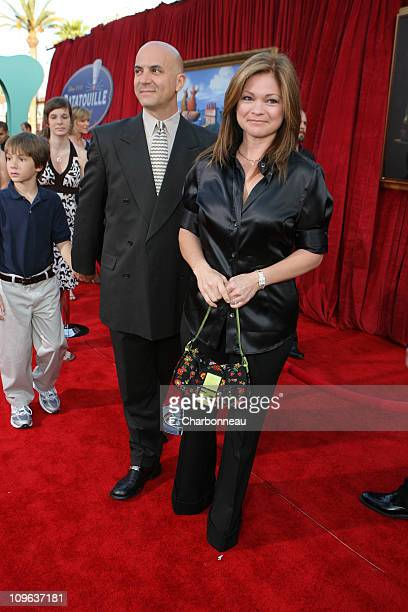 Tom Vitale and Valerie Bertinelli during The World Premiere of Disney/Pixar's 'Ratatouille' at Kodak Theater in Hollywood Calfornia United States