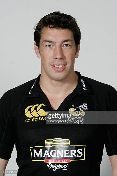 Tom Voyce of London Wasps poses for a portrait during the London Wasps pre season photo call for he 20067 Guinness Premiership season at the London...