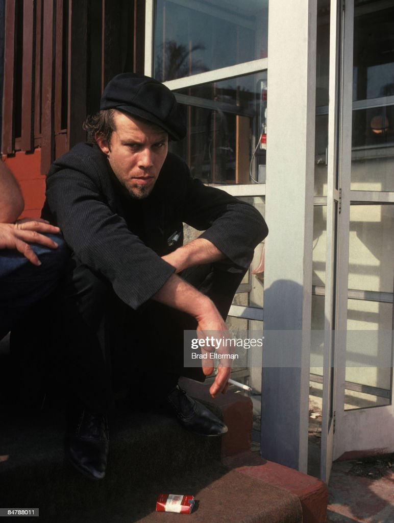 <a gi-track='captionPersonalityLinkClicked' href=/galleries/search?phrase=Tom+Waits&family=editorial&specificpeople=1104144 ng-click='$event.stopPropagation()'>Tom Waits</a> at The Tropicana Motel in Los Angeles, California. **EXCLUSIVE**