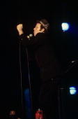 Tom Waits performing at the Beacon Theatre in New York City on September 27 1999