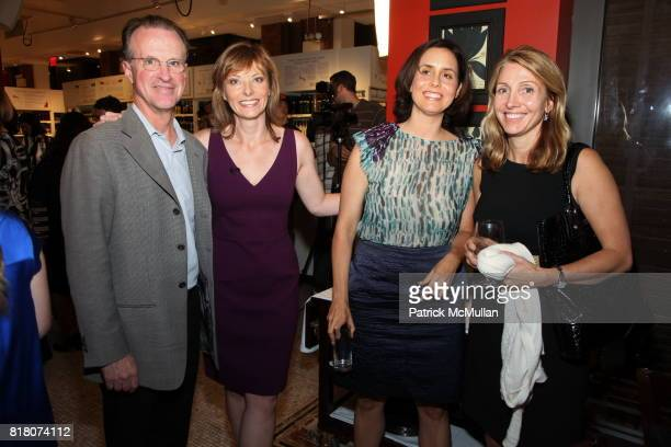 Tom Wallace Tanya Steel Alice McKown and Debi Chirichella attend Epicurious 15th Anniversary Dinner at Eataly on September 29 2010 in New York