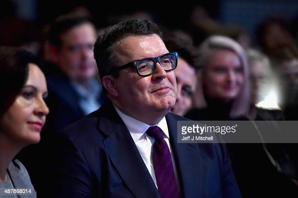 Tom Watson is elected the new deputy leader of the Labour Party at the Queen Elizabeth II conference centre on September 12 2015 in London England...