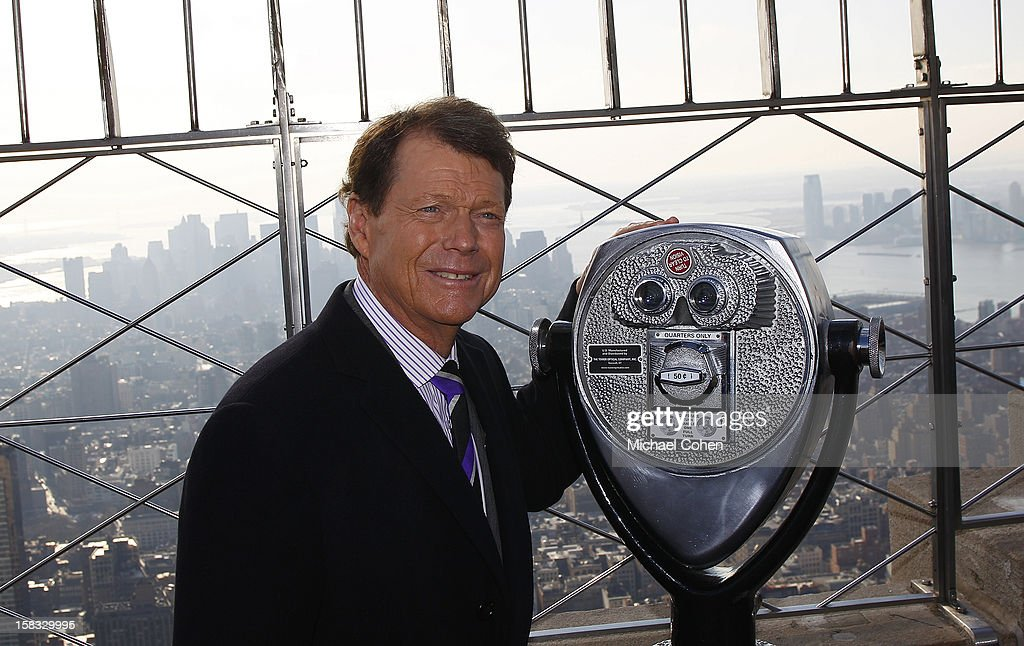 Tom Watson, the newly announced U.S. Ryder Cup Captain, stands on the 86th Floor Observatory after the 2014 U.S. Ryder Cup Captain's News Conference held at the Empire State Building on December 13, 2012 in New York City.