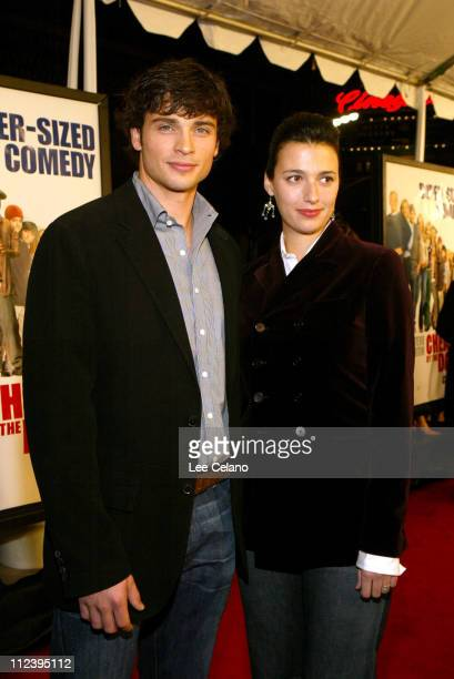 Tom Welling and wife Jamie during 'Cheaper by the Dozen' Los Angeles Premiere Red Carpet at Mann's Grauman's Chinese Theatre in Hollywood California...
