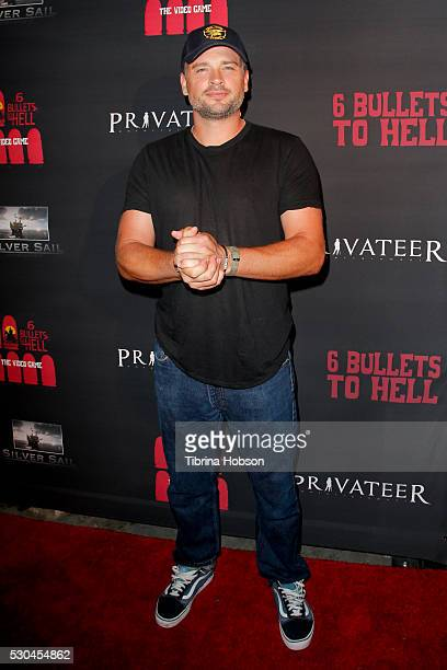 Tom Welling attends the launch of '6 Bullets To Hell' on May 10 2016 in Los Angeles California