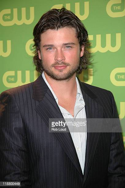 Tom Welling during The CW Upfront Red Carpet at Madison Square Garden in New York New York United States