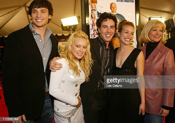 Tom Welling Hilary Duff director Shawn Levy Piper Perabo and Bonnie Hunt