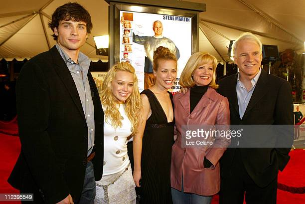 Tom Welling Hilary Duff Piper Percabo Bonnie Hunt and Steve Martin