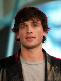Tom Welling of 'Smallville' during TRL at the MTV Studios in New York City 9/23/02 Photo by Scott Gries/Getty Images