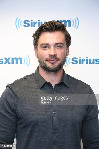 Tom Welling visits at SiriusXM Studios on April 10 2014 in New York City