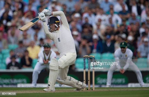 Tom Westley of England batting during day one of the 3rd Investec test between England and South Africa at The Kia Oval on July 27 2017 in London...