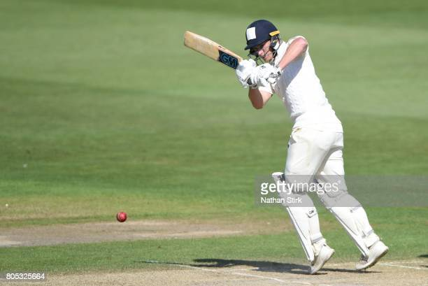 Tom Westley of England Lions batting during the tour match between England Lions and South Africa A at New Road on July 1 2017 in Worcester England