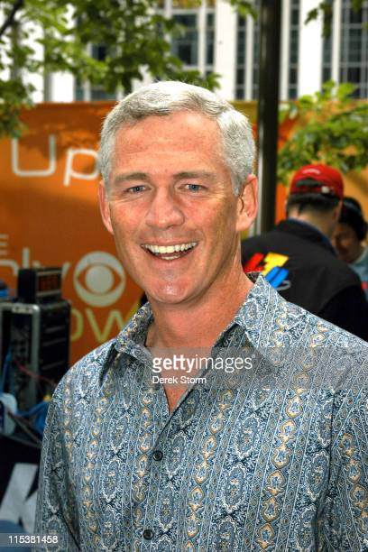 Tom Westman during 'Survivor' Winner Tom Weston and the Cast of 'Everybody Loves Raymond' Visit 'The Early Show' May 16 2005 at CBS Studios in New...